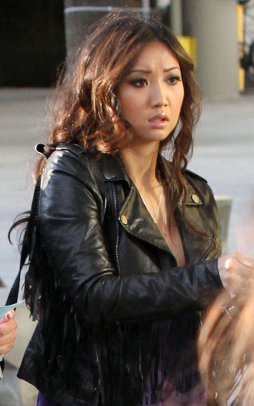 brenda song 2011. Brenda Song: Staples Centre
