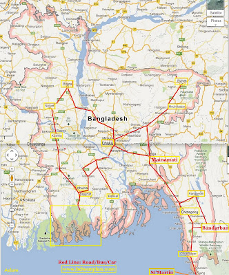 Travelling Bangladesh.