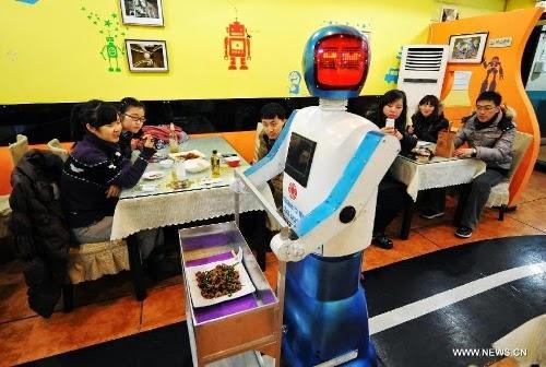 gastronomia robótica