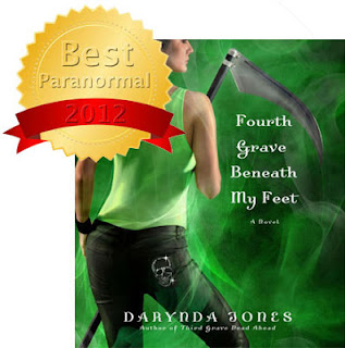Fourth Grave Beneath My Feat by Darynda Jones