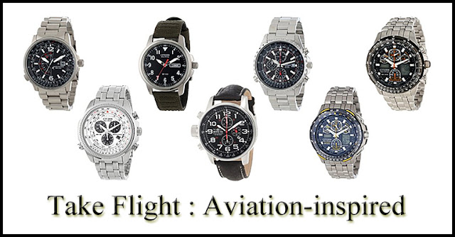 Take Flight - Aviation Inspired Watches