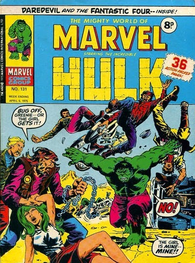 Mighty World of Marvel #131, The Hulk