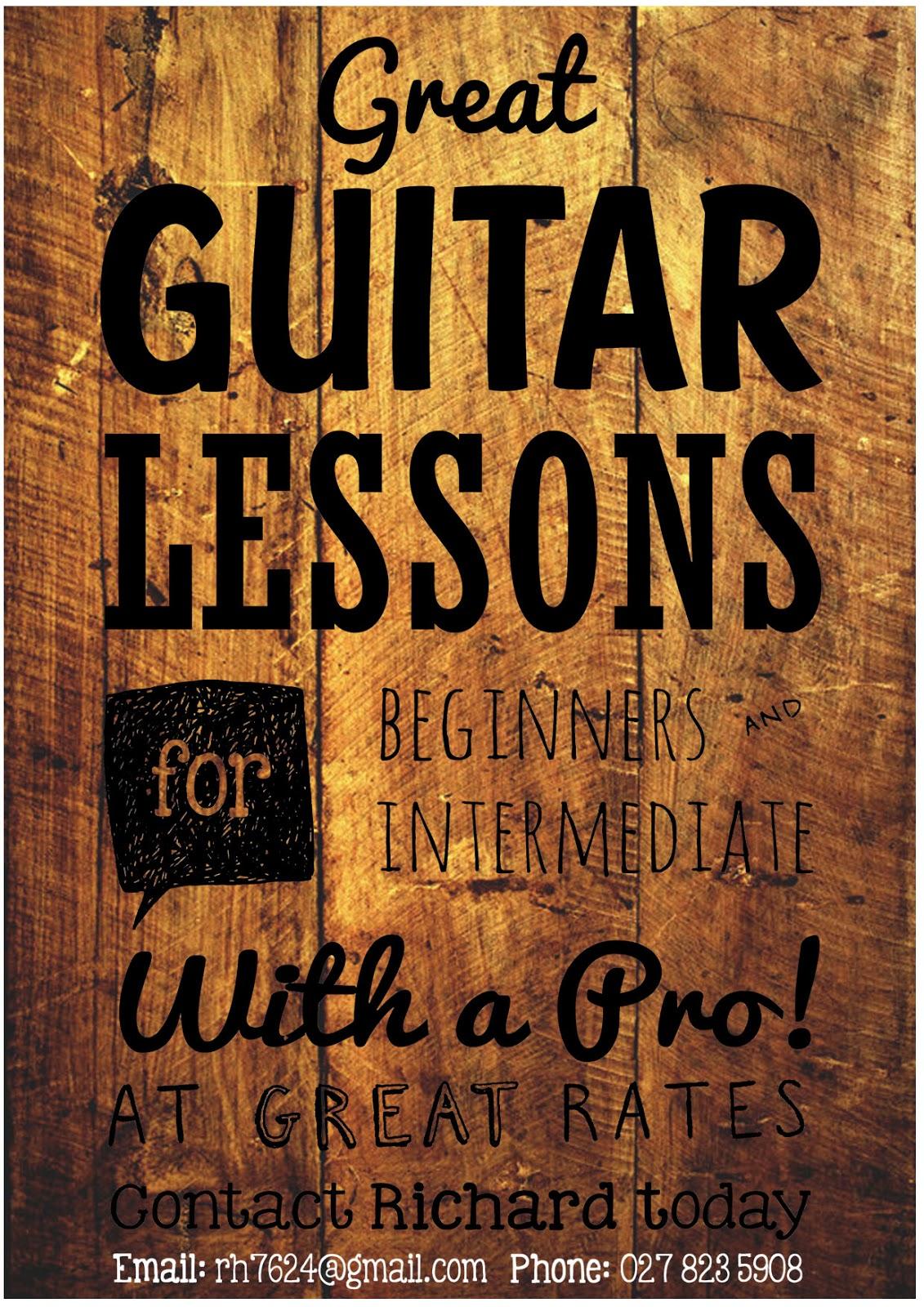 guitarra lessons: