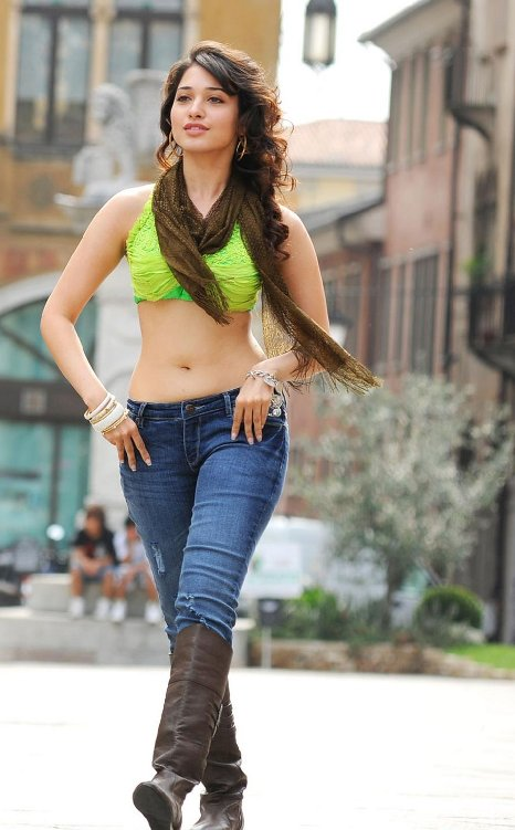 Tamanna Photos Hot Actress In Tight Jeans