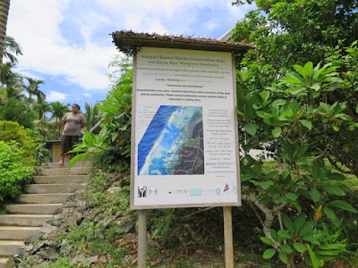 Community project poster, Kaday Community Center, Yap.