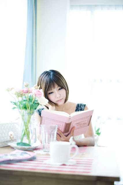 4 Stunning Ryu Ji Hye-Very cute asian girl - girlcute4u.blogspot.com