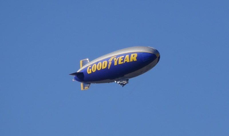 how to get an invitation to ride the goodyear blimp