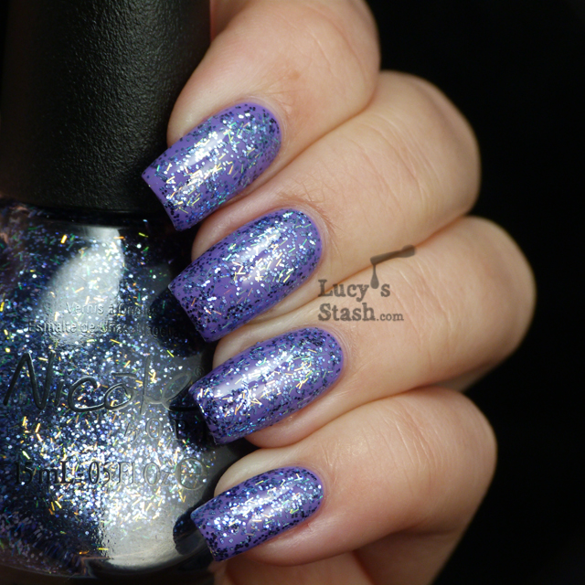 Lucy's Stash - Nicole By OPI Mi Fantasia over Love Song