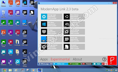 Windows 8 ModernApp link