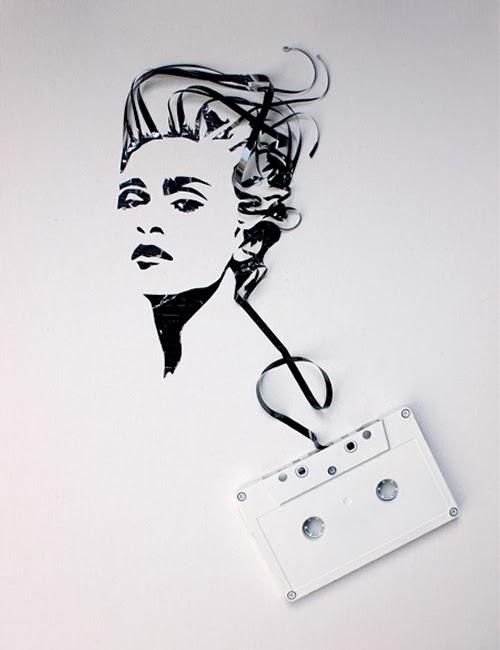08-Madonna-Erika-Iris-Tape-Art-www-designstack-co