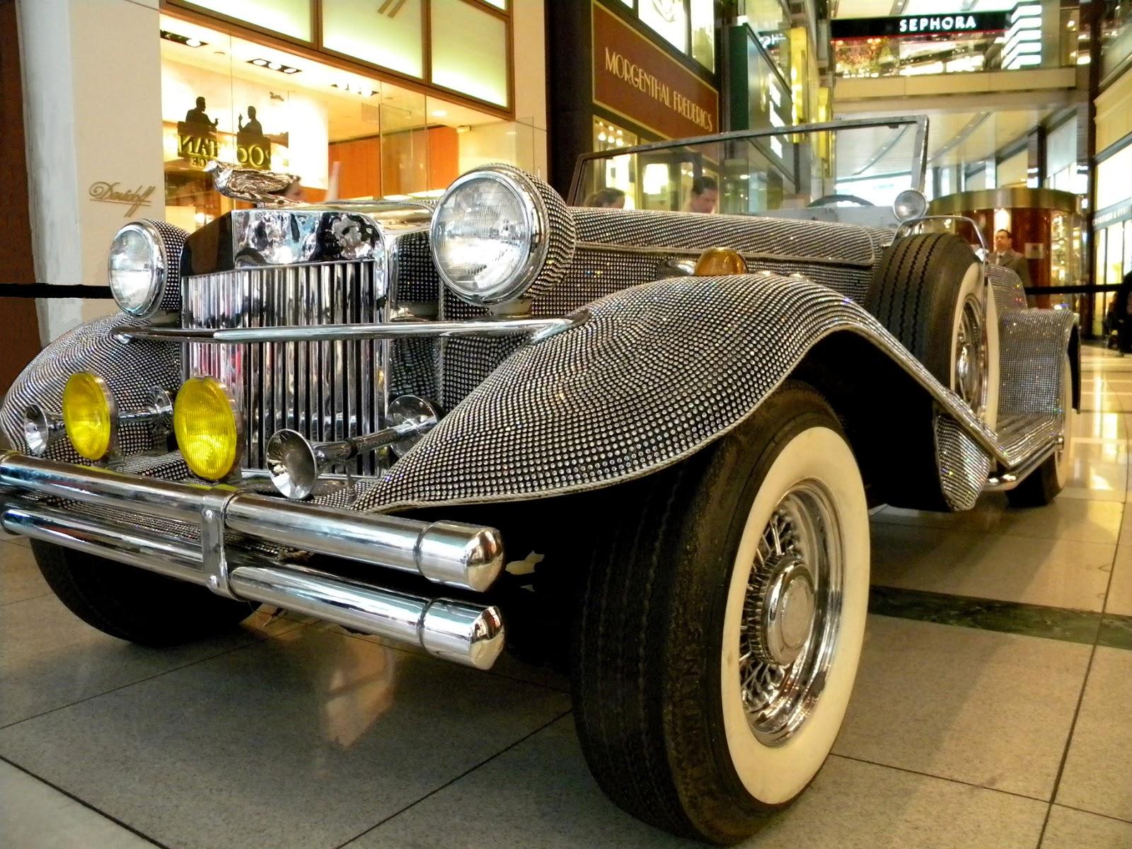 Liberace's Rhinestone Roadster