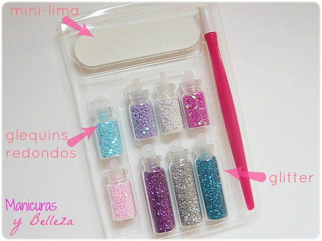 pack nail art decoraciones 3d