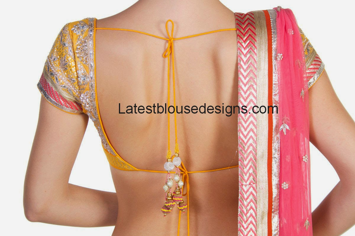 anitha dongre blouse designs
