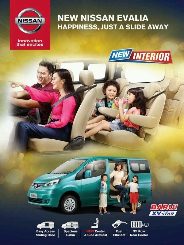 Harga Nissan New Evalia 2014