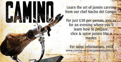 Jamón Carving Masterclass at Camino