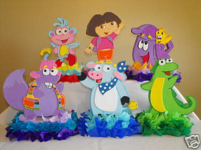 MyTotalNet.com: Children's Parties Decoration Dora the Explorer
