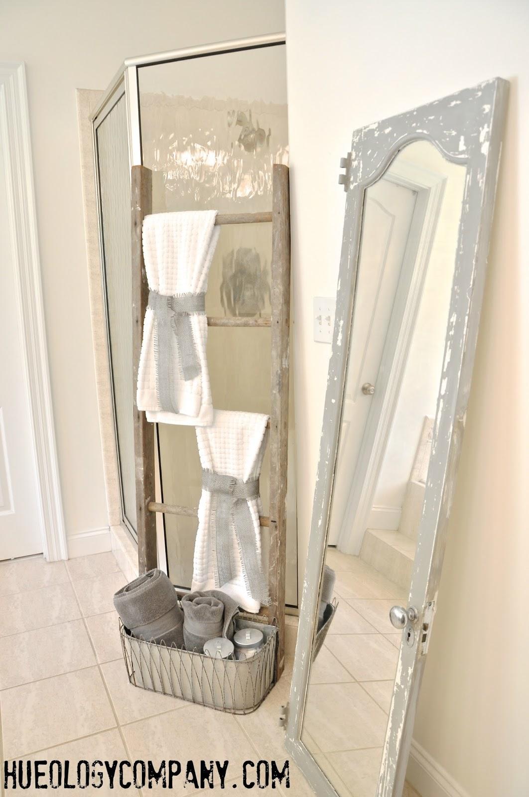 painting bathroom cabinets | Hueology Studio