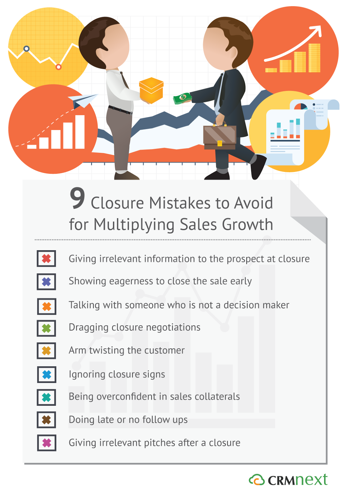 Multiply Sales Growth: 9 Closure Mistakes to Avoid