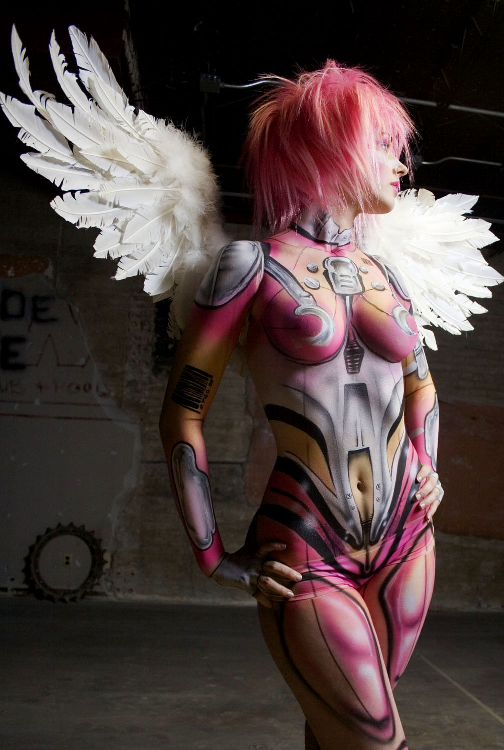 Keep the Secret...: BODY PAINTING