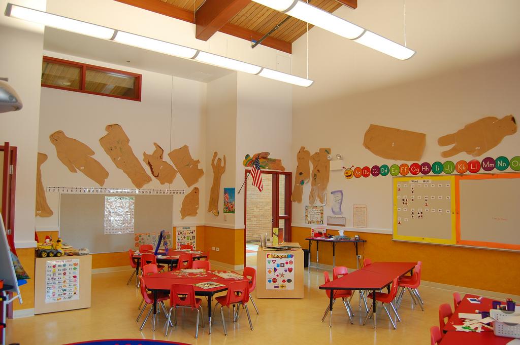 Classroom Exterior Design ~ Design classic interior classroom