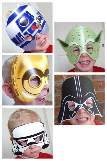 May The Fourth Be With You Star Wars mask