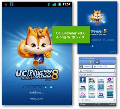 UC Browser 8.2 Final Released In Chinese : English Translated Version