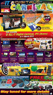 All IT Digital Carnival SALE allIT hypermarket at ikano ipc