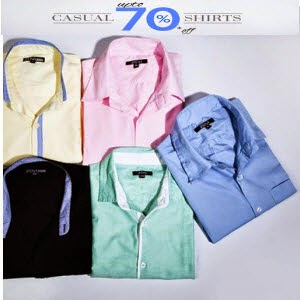 Buy Zovi Shirts Set of 3 from Rs. 536 (Elite Members) or Rs. 564