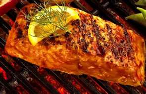 Grilled Soy Sesame Salmon