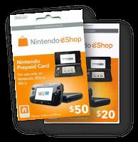 Nintendo eShop Prepaid Cards