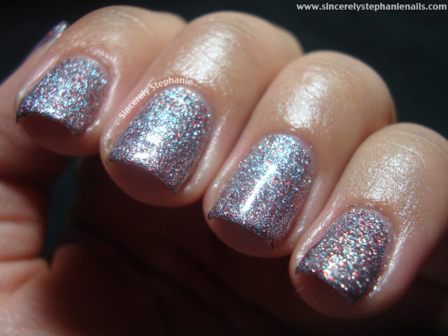nicole by opi kardashian kolor all is glam, all is bright