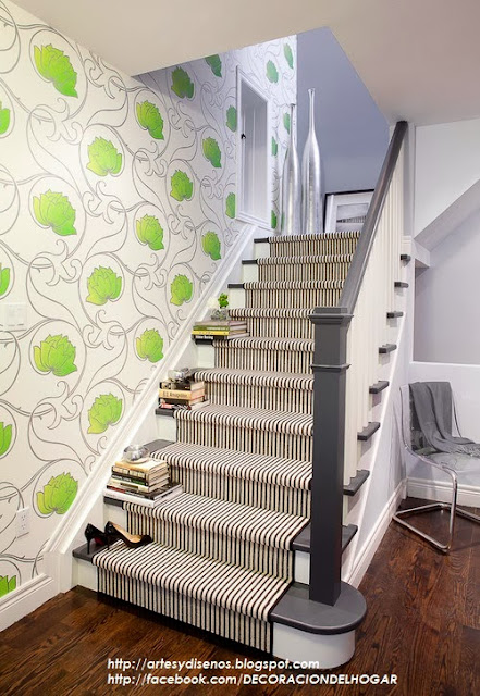 10 Modelos y Tipos de Escaleras para Interiores : Decoración del ...