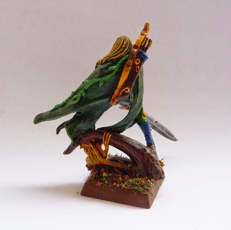 Warhammer Fantasy Battle - Wood Elf Glade Captain