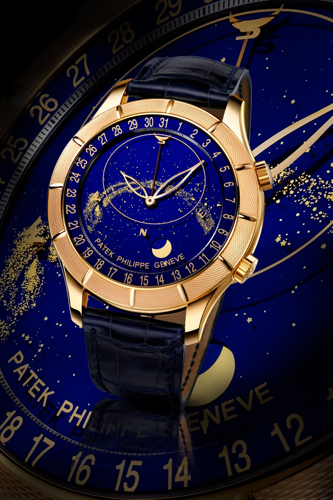 Unique watches type of astronomical watches for Patek philippe watch
