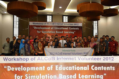 AIV 2012 Mataram : Development of Educational Content for Simulation Based Learning