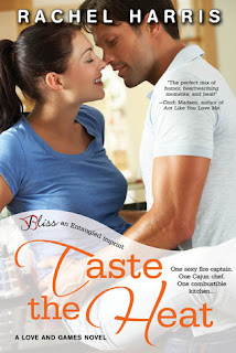 Release Day Post: Taste the Heat (Love and Games #1) by Rachel Harris