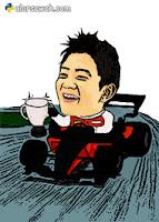F1 Caricature