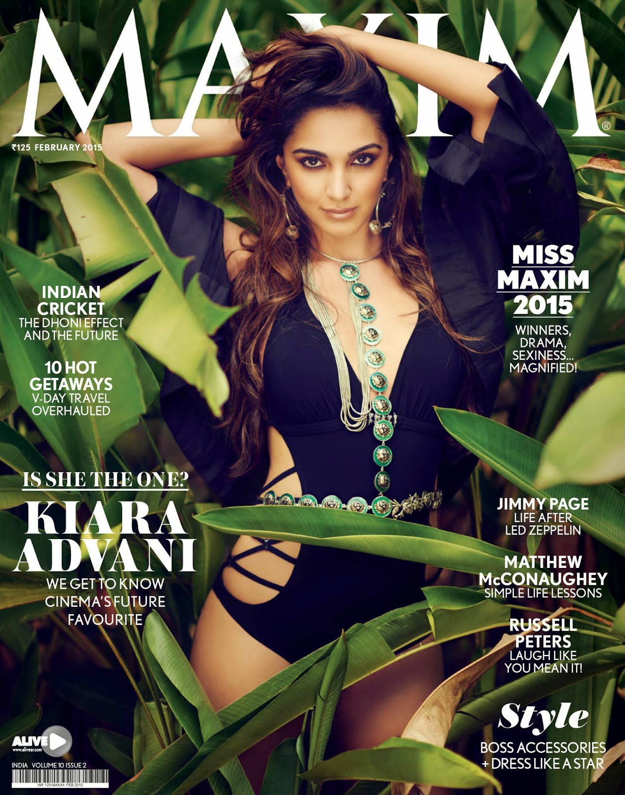 Actress: Kiara Advani for Maxim India