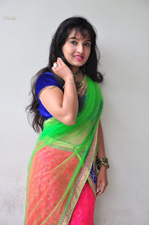 New actress Roshini half saree Picture shoot 029.jpg