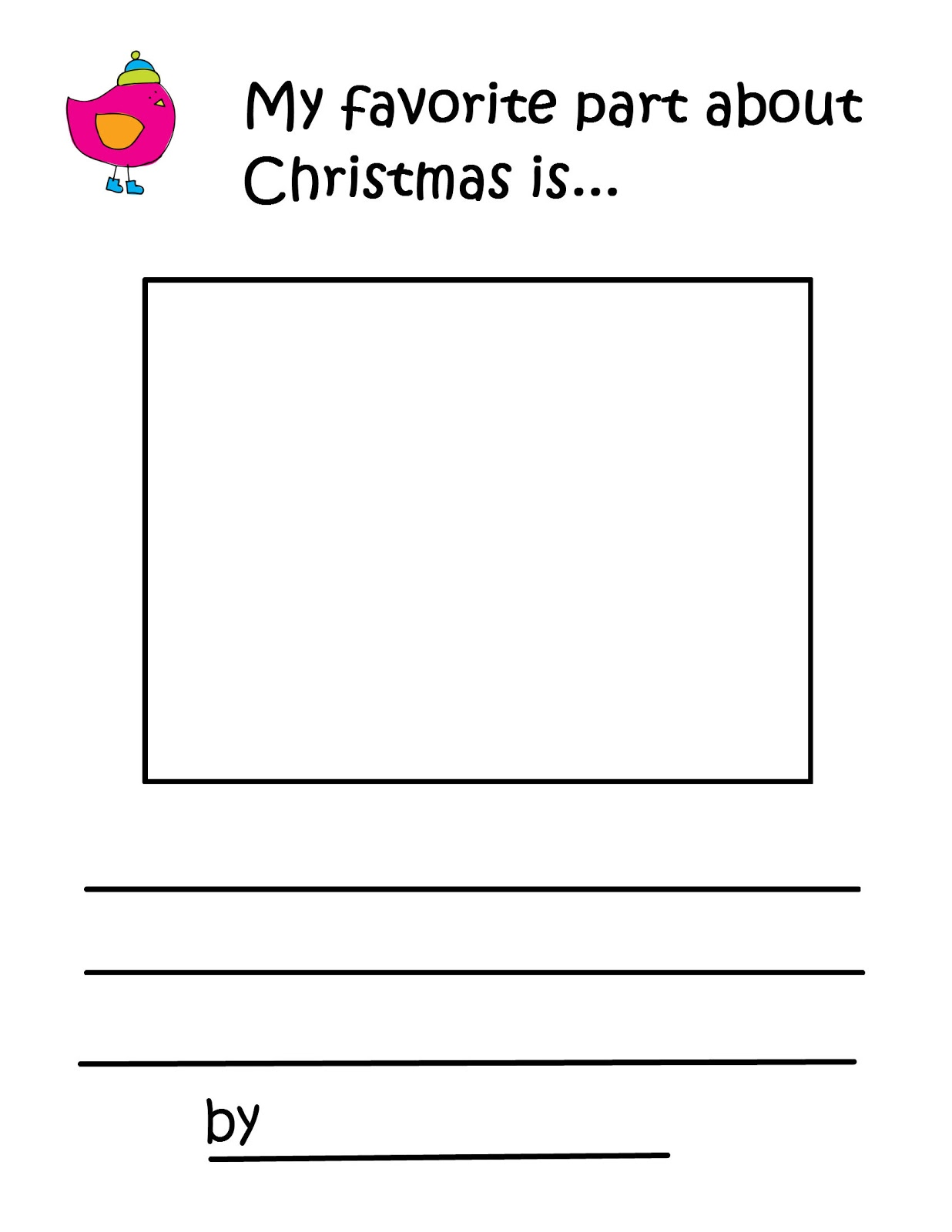 Christmas Preschool Packet {3 Day FREEBIE!!} | Preschool Powol Packets