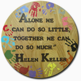 A quote by Hellen Keller