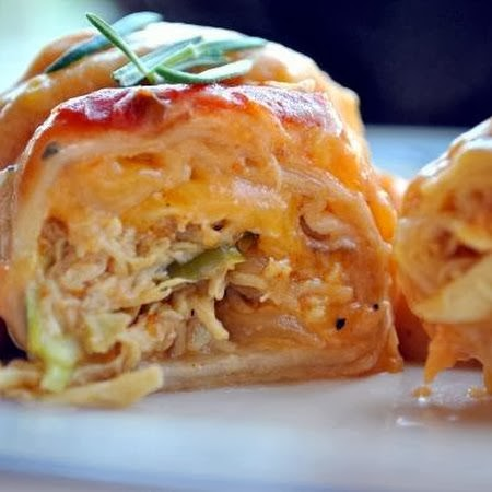Sour Cream Chicken Enchiladas Recipe — Dishmaps