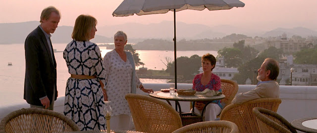 The Best Exotic Marigold Hotel,Ganges,British movie
