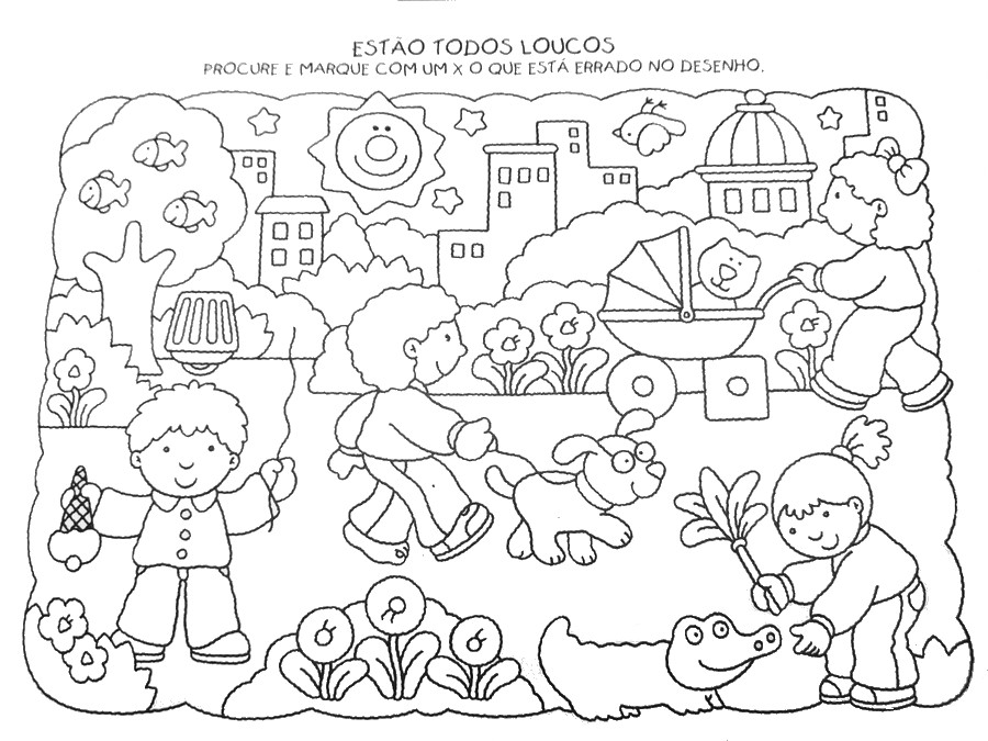Correspondências - sequências e outras actividades 2 ALFABETIZACAO+INFANTIL+DESENHOS+E+ATIVIDADES+933