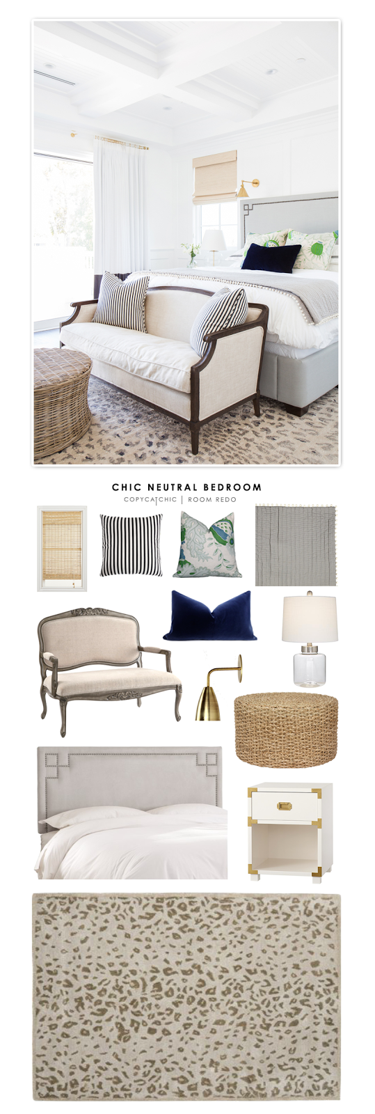 copy cat chic chic neutral bedroom copy cat chic