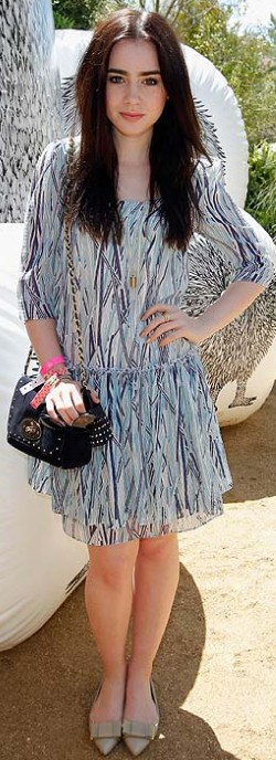 street style coachella lily collins