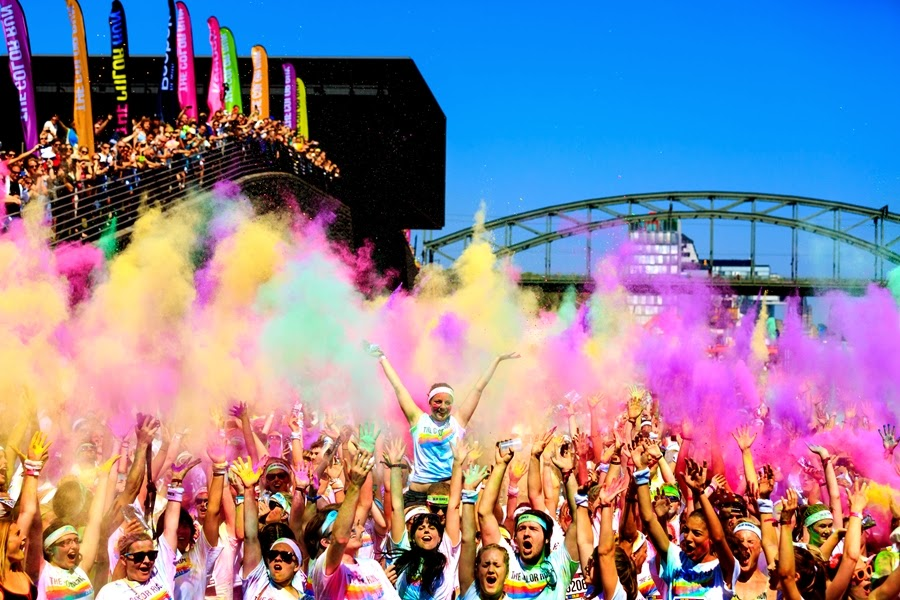 teilnehmer color run 2013