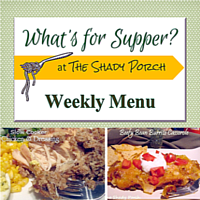 What's For Supper: Menu September 08, 2014