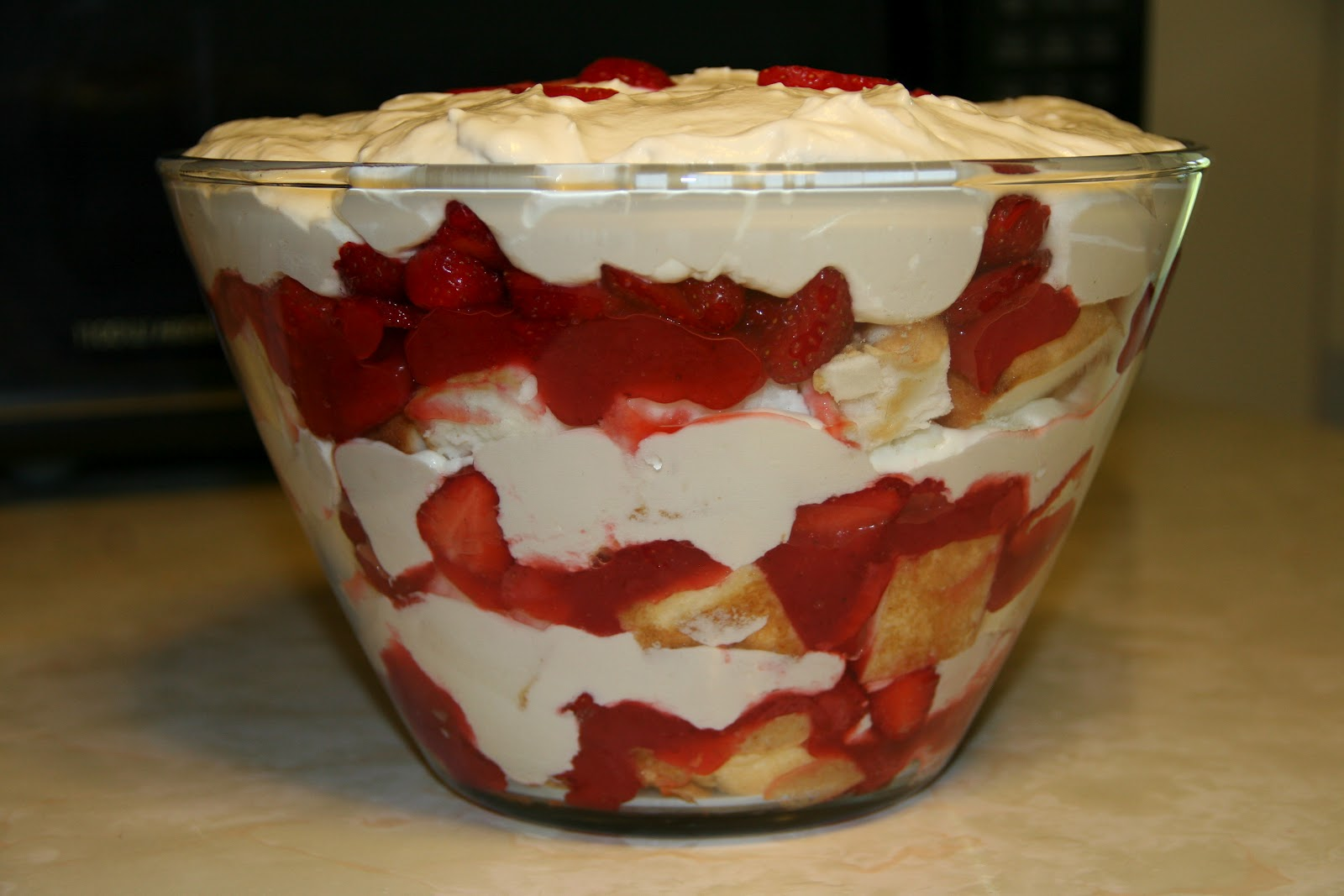 It's My Life: Strawberry Trifle