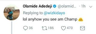 Olamide's tweet